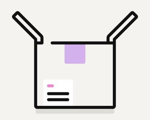 Icon of box