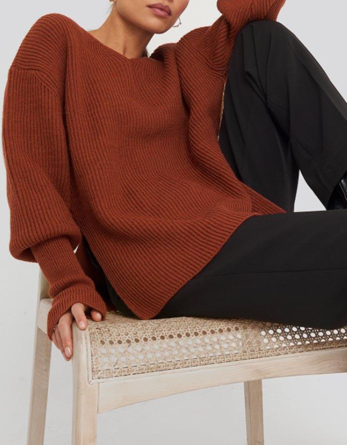 brown-knit