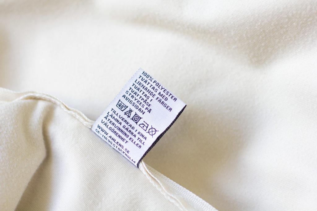 Polyester tag tvättråd